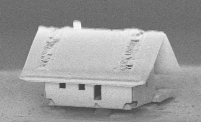 Нанороботы собрали самый необычный домик в мире Нанотехнологии, Дом, Оптоволокно, Длиннопост