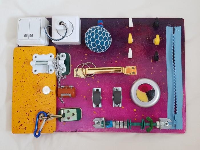 Бизиборд своими руками Бизиборд, Искусство, Шедевр, Красивое, Живопись, Длиннопост