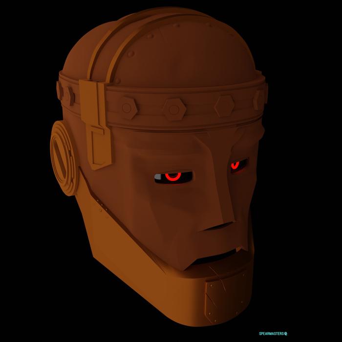 Robotman Mask Роковой патруль, 3D моделирование, DC Comics, 3D, Blender