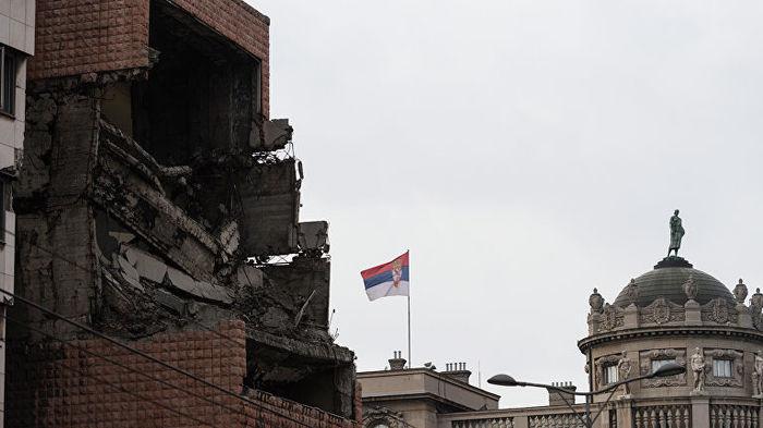 Глава МИД Германии назвал бомбардировки НАТО Югославии «правильными» НАТО, Мид германии, Косово, Югославия, Политика
