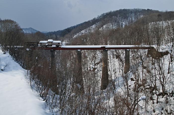 Заброшенный поезд Поезд, Япония, Заброшенная техника