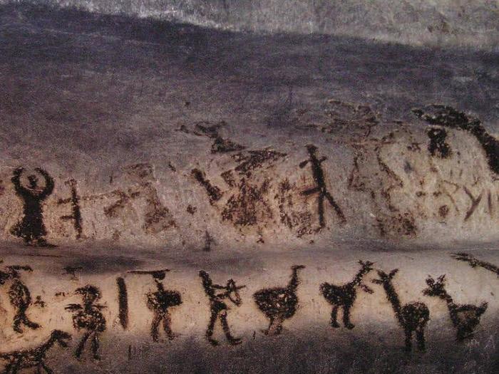 Пикабушник изнеолита идет на бунт Неолит, Искусство, Бунт, Древность