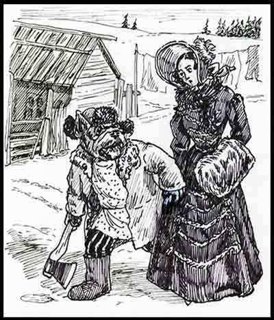 «Жена декабриста». Быль. Текст, Рассказ, Бульдог, Олифантофф