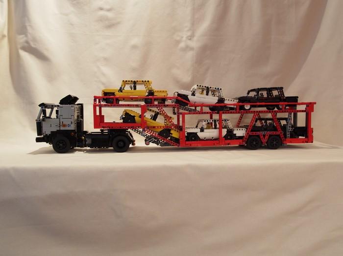 Лего МАЗ 54329 Автовоз (самоделка) LEGO, LEGO technic, Автовоз, Масштабная модель, Видео, Длиннопост