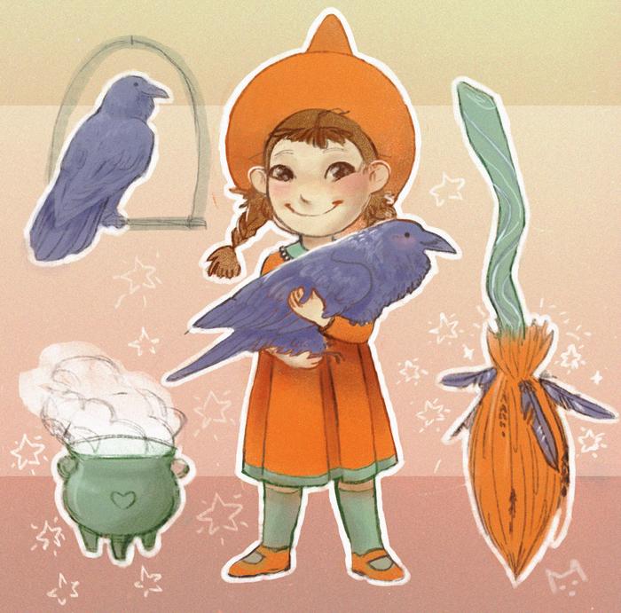 Маленькая Ведьмочка :з