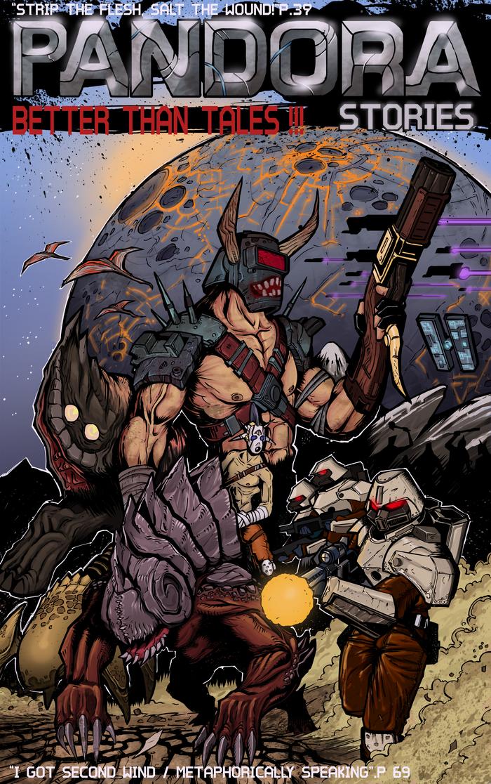 Borderlands - Обложка комикса