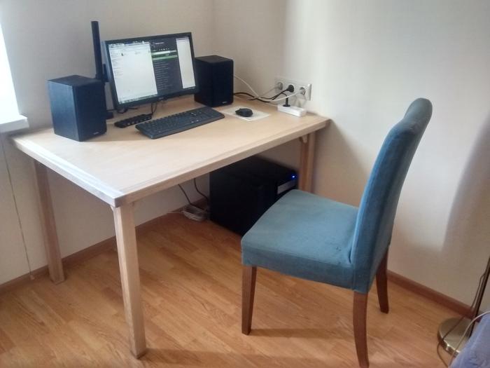 Как я делал стол Мебель своими руками, Стол, Ясень, Столярка, Heartwood, Длиннопост