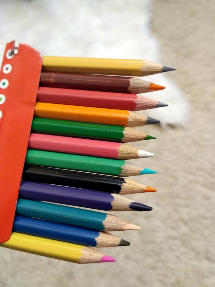 Цветные карандаши. Найди красный Цветные карандаши, Покупка, Ожидание и реальность, Недобросовестность, Made in China, Длиннопост