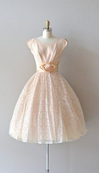 Летние платья 1950-х годов Мода, 50-е, Красивые платья, Винтаж, Длиннопост