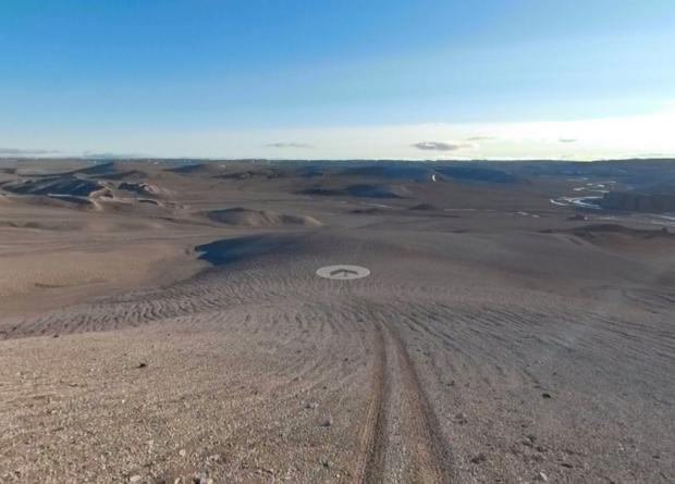 На панорамах Google Street View появился остров с «марсианскими» условиями Новости, Девон, Марс, Google, Красота
