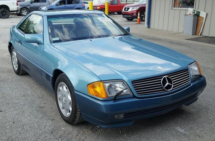 Угнанный 27 лет назад «Мерседес» SL 500 нашли почти новым. И сразу решили продать Mercedes-Benz SL 500, Длиннопост, Авто, Мерседес, Угон машины, 90-е, Угон