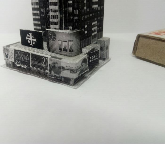 Нью-Йорк на подоконнике Нью-Йорк, Бумажный моделизм, Город, Хобби, Моделизм, Длиннопост