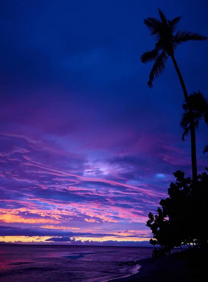 Остров Мауи на закате