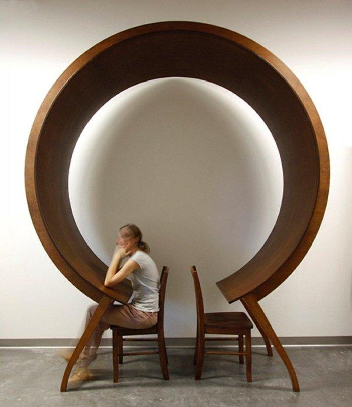 """Мебель для интровертов""""Не сейчас"""" Мебель, Интроверт, Дизайн, Дерево, Одиночество, Длиннопост"""