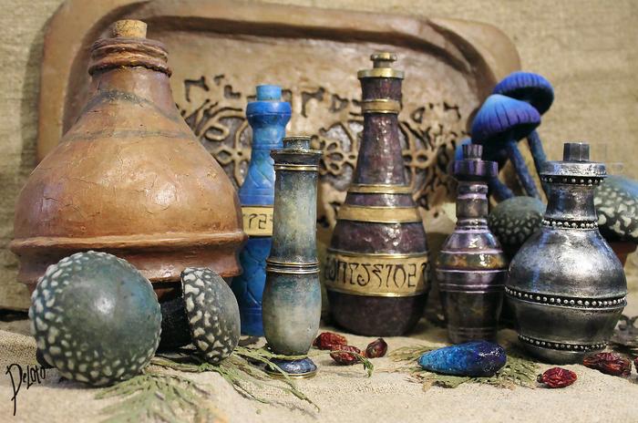 Зелья и напитки по мотивам TES III: Morrowind The Elder Scrolls, Morrowind, Игры, Рукоделие без процесса, Ручная работа, Крафт, Магия, Deloto, Длиннопост