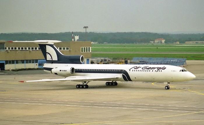 Ту-154 зарубежных авиакомпаний + стран СНГ Самолет, Ту-154, Авиалинии, Авиация, Подборка, Авиакомпания, Длиннопост