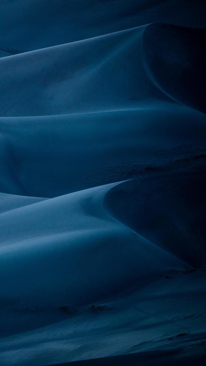 Ночные дюны