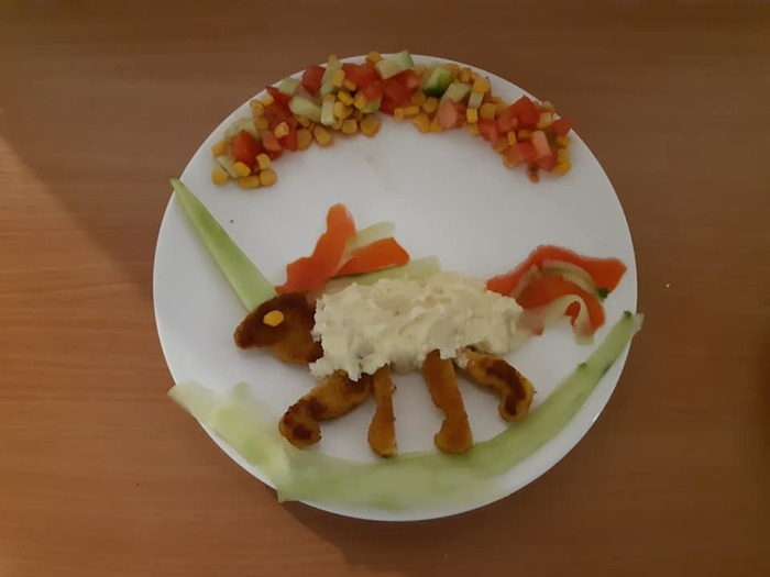 Как накормить ребёнка Отец, Еда, Необычная еда, Дочь, Длиннопост, Кулинар, Дети
