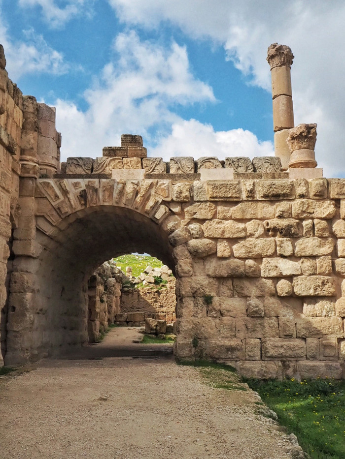 Древний город Джераш Иордания, Ближний Восток, Путешествия, Туризм, Длиннопост