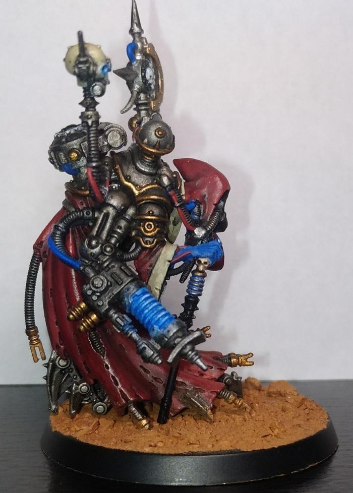 Продолжаем красить механикумов Warhammer, Warhammer 40k, Adeptus Mechanicus, Magos, Покраска миниатюр, Wh miniatures, Длиннопост