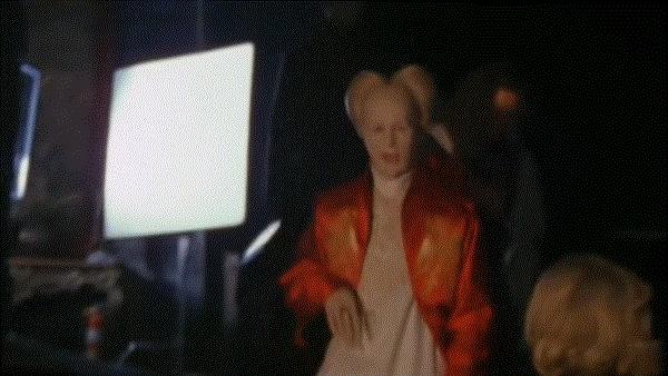 Гари Олдман на съёмочной площадке фильмаДракула 1992 год.
