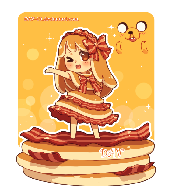Bacon Pancake girl