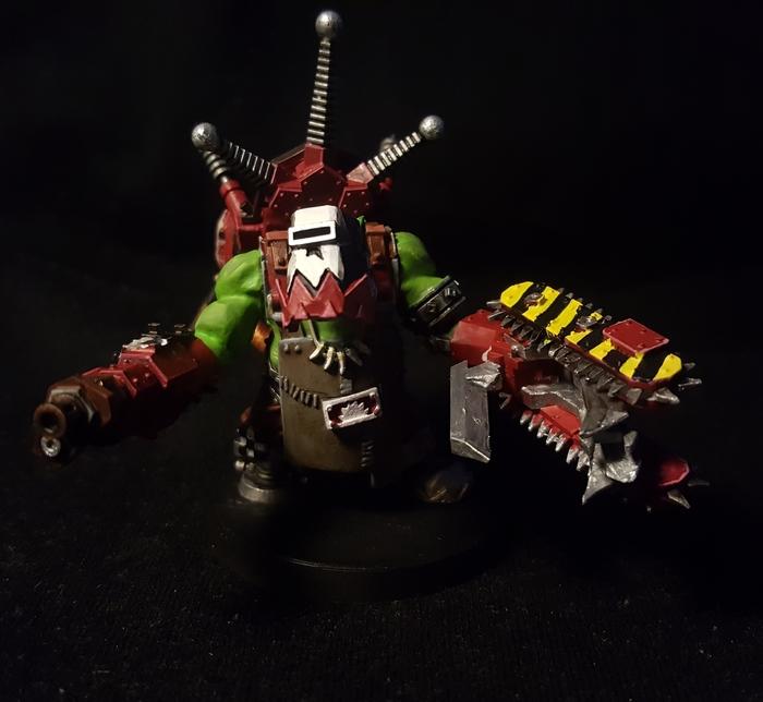 Как я успокаиваю нервишки. Биг Мэк.Dawn of War Wh miniatures, Warhammer 40k, Dawn of War, Орки, Длиннопост