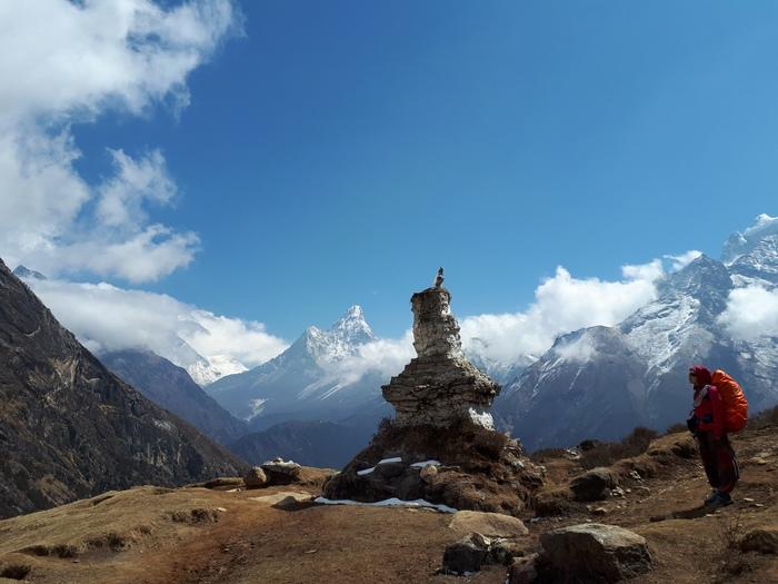 Как относительно дешево самому скатать в самые высокие горы в мире в Непал Непал, Эверест, Горы, Поход, Путешествия, Джунгли, Монастырь, Совет, Длиннопост