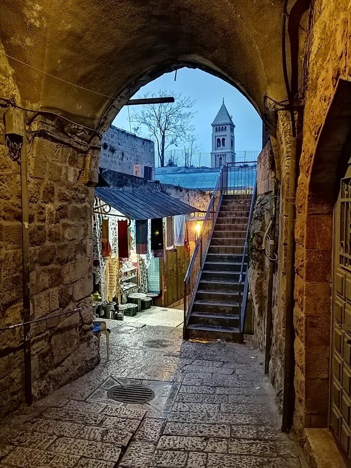 Иерусалим. Еврейский квартал.
