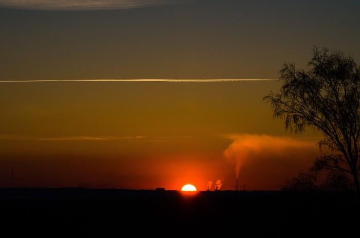Закат Закат, Начинающий фотограф, Фотография, Nikon, Длиннопост