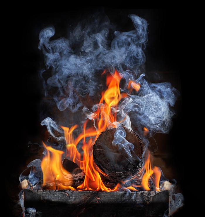 Тот кто живет в моем камине Кальцифер, Хаяо Миядзаки, Огонь, Дым, Камин, Фотография