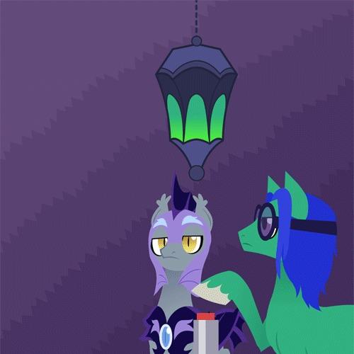 Bugs doing bug things My Little Pony, Changeling, Original Character, Гифка, Batpony, Night Guard, Dinkelion