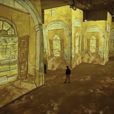 Цифровая выставка работ Ван Гога