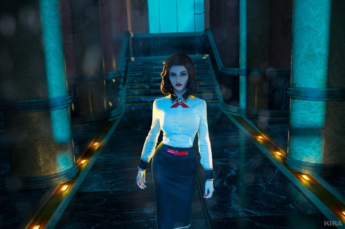 BioShock Infinite : Burial At Sea Cosplay by Claire Sea. Косплей, Bioshock Infinite, Фотография, Bioshock Infinite burial at se, Элизабет, Bioshock, Длиннопост