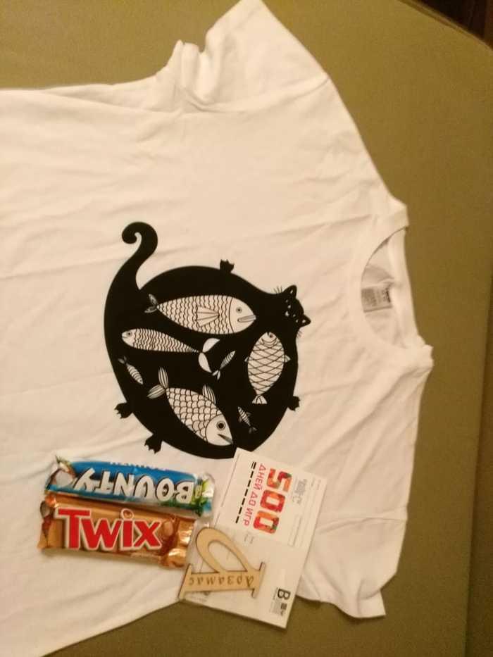 T-shirts crossing Арзамас - Мытищи. Подарок от альтруиста)) t-Shirts crossing, Отчет по обмену подарками, Обмен подарками, Длиннопост