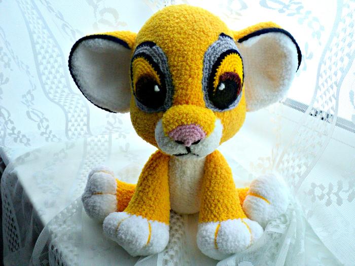 Король Лев - Симба! Мягкая игрушка, Игрушки, Ручная работа, Вязание, Король Лев, Подарок, Детские игрушки