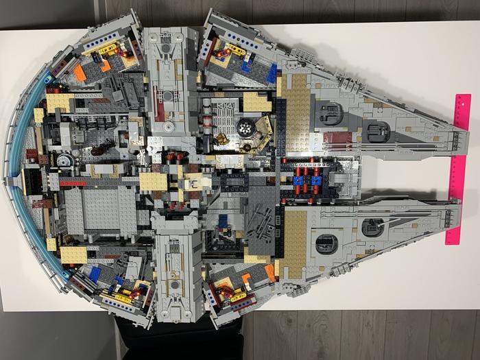 Сокол тысячелетия 7 LEGO, Тысячелетний сокол, Модель, Длиннопост