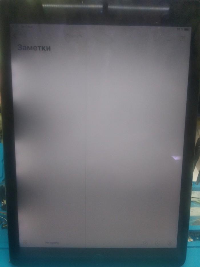 Ipad Air 2 A1566,проблемы с подсветкой,засветы,пересветы. Первый пост, Ремонт, Длиннопост