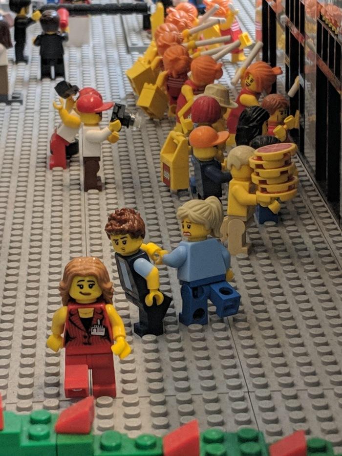 Мемы из Lego