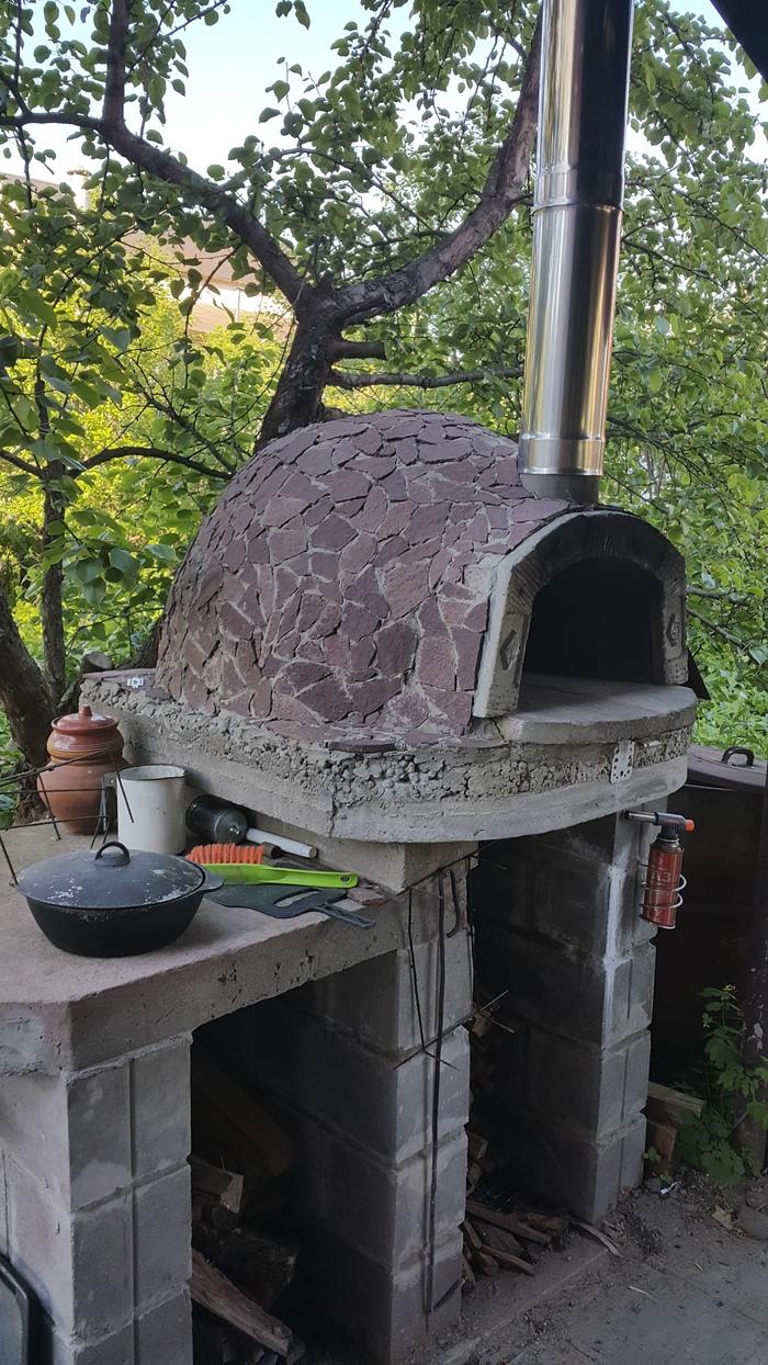 Помпейская печь. Хлеб Помпейская печь, Еда, Хлеб, Батон, Своими руками, Видео, Длиннопост
