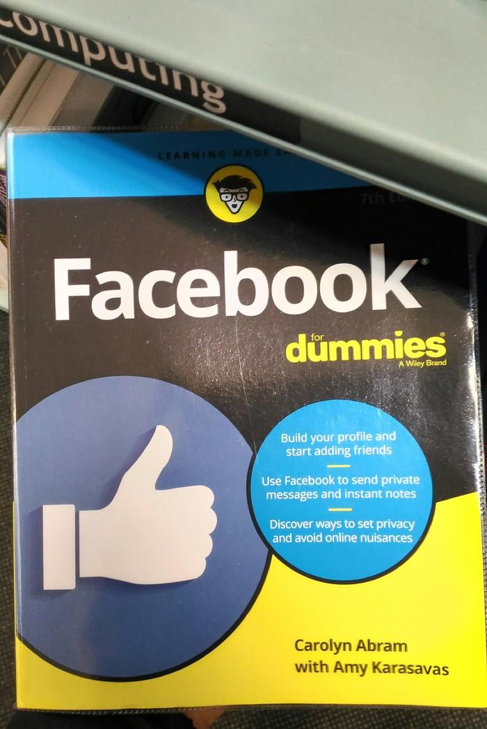 Facebook для чайников Facebook, Книги, Английский язык, Длиннопост