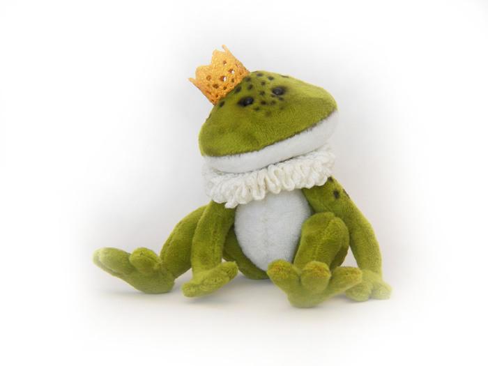 Принц неизвестной державы Принц, Принц-Лягушка, Мягкая игрушка, Ручная работа, Рукоделие без процесса, Рукодельники, Длиннопост