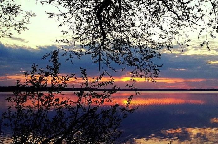 Просто делюсь с вами фотографиями своих родных мест Закат, Природа, Фотография, Озеро, Поле, Рассвет, Начинающий фотограф, Длиннопост