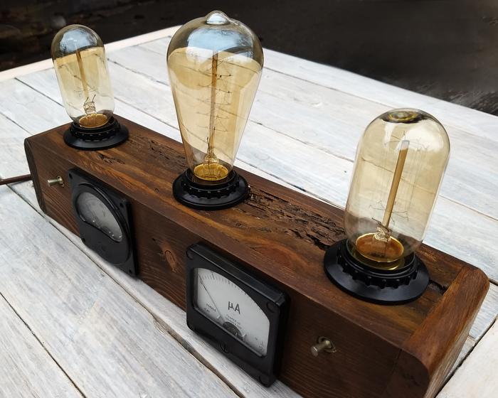 Лампы, которые светят Работа с деревом, Длиннопост, Рукоделие без процесса, Ручная работа, Декор, Настольная лампа, Лампа