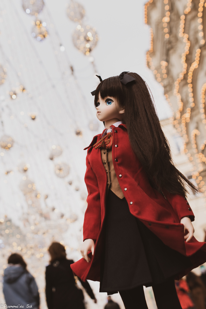 DollfieDream - Тосака, Москва, весна Dollfiedream, Шарнирная кукла, Tohsaka Rin, Фотография, Хобби, Аниме, Длиннопост, Fate, Fate-Stay Night