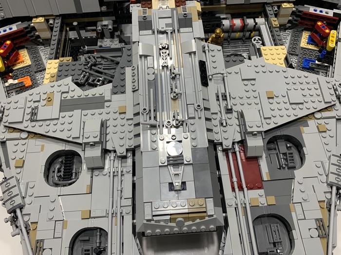 Сокол тысячелетия 8 LEGO, Тысячелетний сокол, Модели, Длиннопост, Star Wars