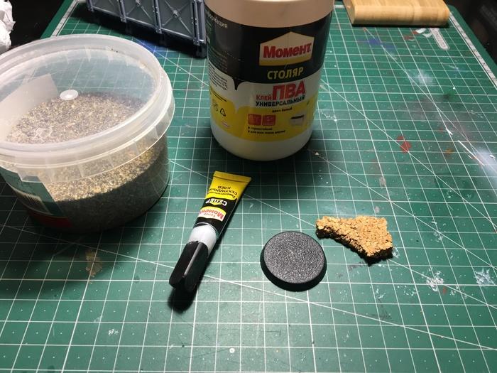 Как я делаю подставки для своих минек Покраска миниатюр, Процесс рисования, Длиннопост
