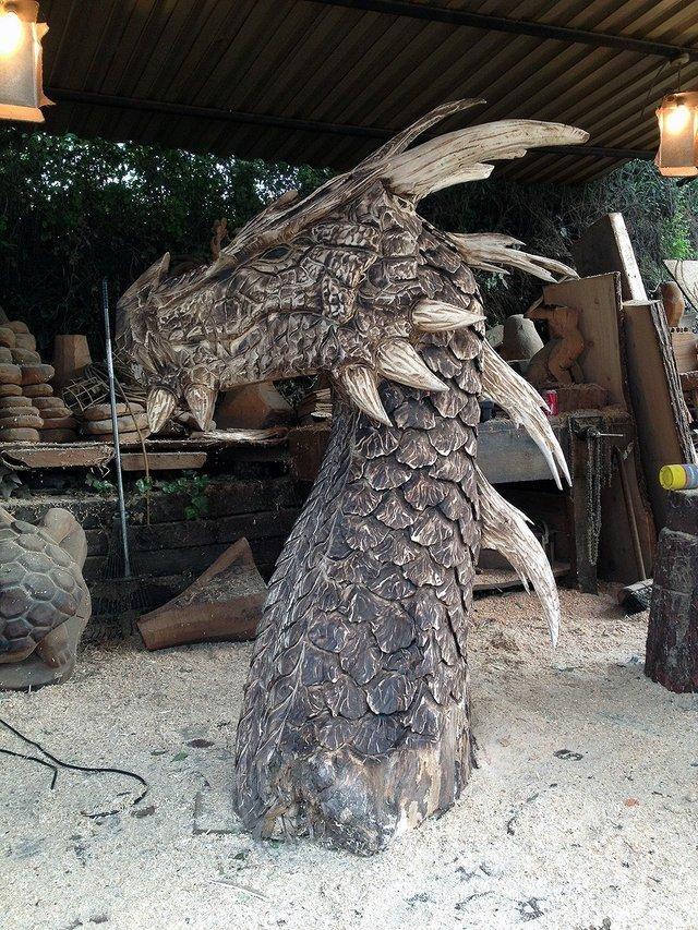 Деревянный дракон