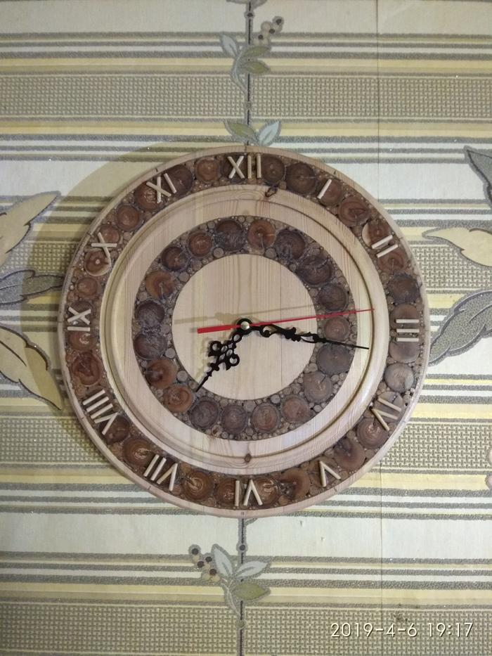 Настенные часы с торцевой мозаикой Настенные часы, Токарка, Работа с деревом, Рукоделие с процессом, Дерево своими руками, Видео, Длиннопост