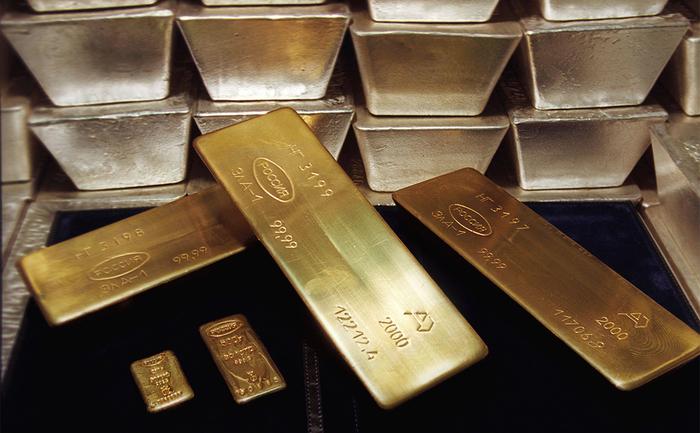 Золотовалютные резервы России достигли максимума с 2014 года Золото, Россия, Политика, Доллар, РБК